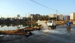 Ponds to be dried up for makeover, experts say waste of water
