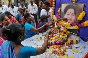 AIADMK says 470 dead of shock over Jaya's demise, offers Rs 3 lakh...