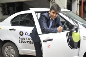 Bhavish Aggarwal, co-founder and CEO, ANI Technologies that runs Ola Cabs.