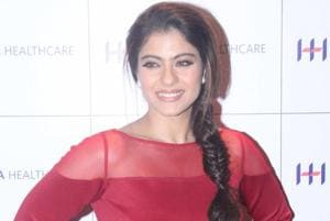 Kajol makes sure she has eight glasses of water every day.