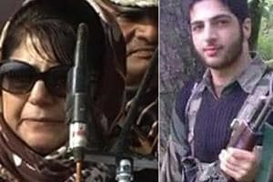 Jammu and Kashmir Chief Minister Mehbooba Mufti said they can't treat...