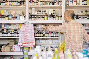 Painkillers, antibiotics and medicines for cough and flu, mainly those that are purchased for daily use, have seen the highest decline in sales.