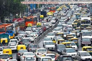 Capital chaos: Delhi's traffic has slowed down and doubled time spent on roads