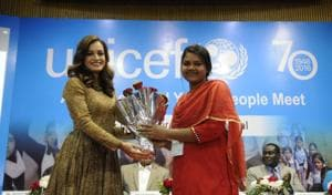 Bhopal: Dia Mirza calls for society that empowers children