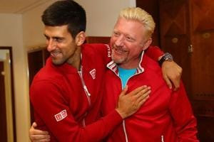 Boris Becker, who had won his fist Wimbledon crown at the age of 17, coached Novak Djokovic to six Grand Slam titles after they teamed up in December 2013. They parted ways early this month