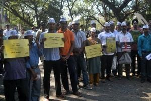 The DontTouchAarey protest that took place on Monday to protest against the proposed Mumbai Metro car shed in Aarey.
