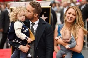 Ever seen a family more beautiful? Ryan Reynolds, Blake Lively step out with babies
