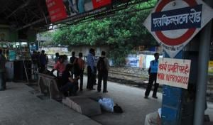 The station had been named after Lord Elphinstone who was the governor of Bombay from 1853 to 1860.