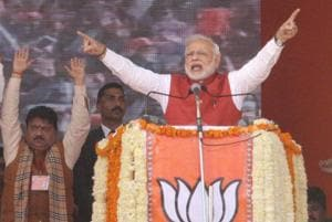 You've suffered for country, won't be disappointed: PM Modi at Kanpur rally