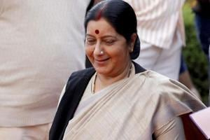 Sushma Swaraj discharged from AIIMS after successful kidney transplant