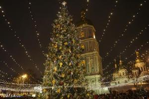 Jingle bell, jingle bell... jingle all the way! Christmas and New Year celebrations in Kiev, Ukraine.