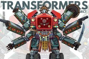 Machines of the soil: An artist is recreating the Transformers with iconic Indian vehicles