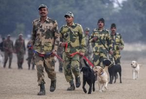 At the National Training Centre for Dogs in Tekanpur, MP, dogs are trained for work in the paramilitary forces, central agencies and state police. The centre also trains canines from friendly nations such as Mauritius, Sri Lanka, Myanmar, Bangladesh and Nepal.