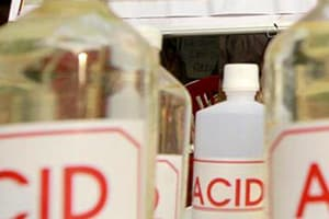 Nine women were injured in an acid attack in Punjab's Kapurthala district on Monday after a heated dispute over panchayat land turned ghastly.