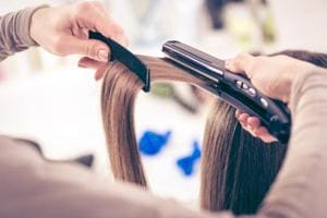 While being able to straighten your hair (permanently or temporarily) at whim does sound like a blessing, it can also be very dangerous to the overall health of your hair.