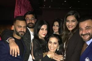 Sonam Kapoor's rumoured beau spotted at dad Anil's birthday bash
