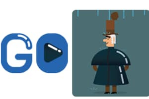 Google doodle pays tribute to the father of the raincoat on his...