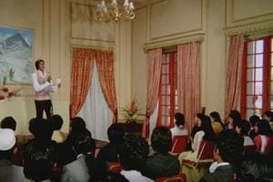 Actor Amitabh Bachchan played a popular shayar in 1976 blockbuster Kabhi Kabhie.