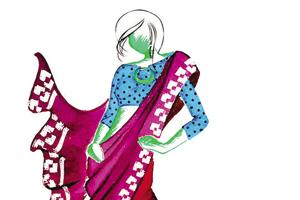 Despite so much interest in the sari, its regional drapes remain shrouded in oblivion