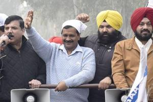 Kejriwal, who held a road show in Majithia constituency and covered more than a dozen villages of the segment, said the AAP will write a new chapter by defeating Bikram Singh Majithia.