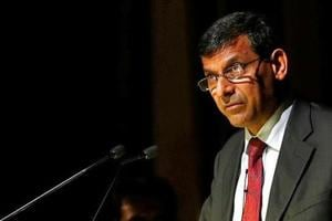 Former Reserve Bank of India (RBI) Governor Raghuram Rajan delivers a lecture at Tata Institute of Fundamental Research (TIFR) in Mumbai on June 20, 2016.