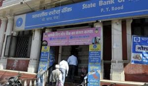 There was no rush in the banks on the last day of depositing the scrapped Rs 500 and Rs 1,000 notes, in Indore on Friday.