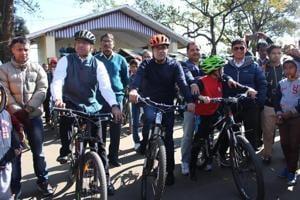 Exclusive park for mountain bikers in Darjeeling.