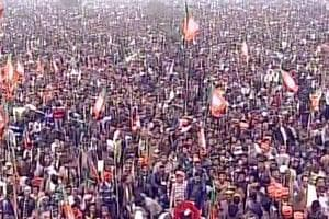 Modi's rally in Lucknow likely to break previous records