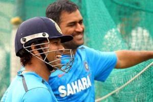 Day to celebrate Mahendra Singh Dhoni's successful captaincy: Sachin Tendulkar