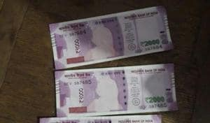 Gandhi image missing on Rs 2,000 notes, MP bank says currency not fake