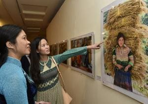 An exhibition to commemorate 45 years of the Indo-Vietnam relationship. Till January 11.