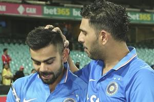 Yuvraj Singh came back into the Indian ODIsquad after three years while Virat Kohli officially took over from MSDhoni as the limited-overs skipper.