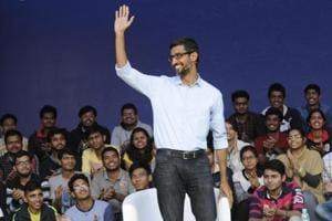 It's back to college for Google's Sundar Pichai