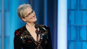In her award-winning speech at the Golden Globe awards today, actor...
