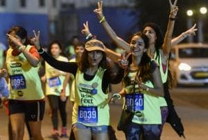 They came, ran and conquered the streets for women's safety
