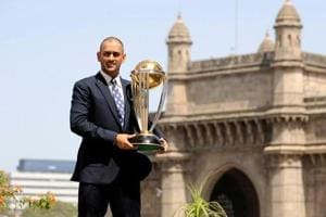 MS Dhoni has authored many audacious moves on the field,where field placements or bowling changes appeared whims of an undecipherable mind till they resulted in grand success, the biggest of them being two World Cups, the ICC World T20 in 2007 and the ICC ODI World Cup (in pic) in 2011.