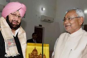 Punjab Congress chief CaptainAmarinder Singh had invited Bihar CM Nitish Kumar to campaign in poll-bound Punjab during his visit to Patna on Parkash Parv.