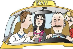Delhi listen up, it's time to learn some shared cab etiquette!