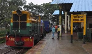 Railway nod to 6.8 crore aid:Matheran toy train back on track soon
