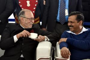 In a first in Delhi, Kejriwal to be seen with L-G at a public event