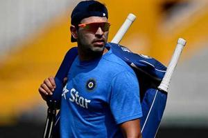 'Yuvraj Singh is in Indian cricket team because Mahendra Singh Dhoni is not captain'