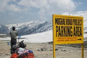 Riding to Ladakh on a motorbike features on the bucket list of most Indians but only a few get to live it for real.
