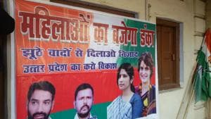 UP elections: Priyanka, Dimple posters make debut amid talks of SP-Cong alliance