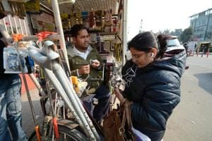 Overcoming disability: He runs a 'mobile biz' to stand on his feet