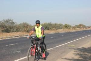 Railway official cycles 140 km to conduct surprise inspection