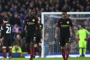 Manchester City F.C. suffer big 0-4 loss to Everton in Premier League