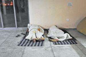 Limited facilities at Gurgaon's permanent night shelters