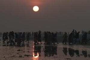 Gangasagar stampede: Six killed as pilgrims rush to board boat at...