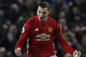 Zlatan Ibrahimovic salvages Manchester United F.C.'s draw vs Liverpool...