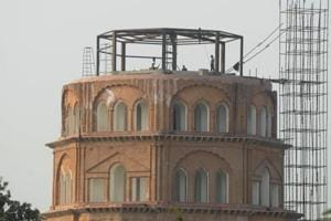 A new lease of life: Satkhanda getting ready as a must-see tower